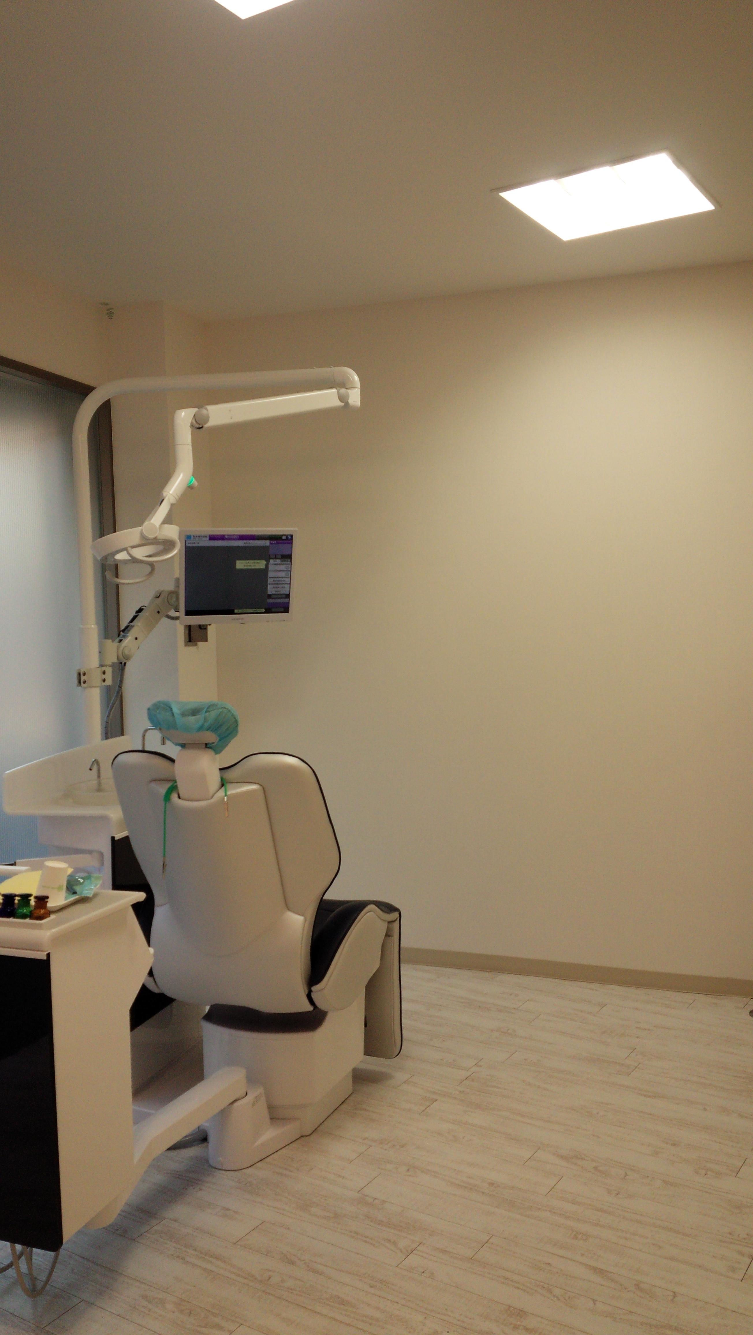 診療室のスペース
