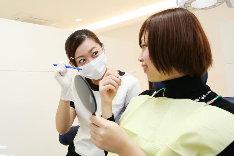歯を残す治療に徹底